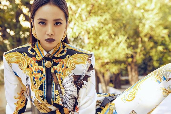 穿上 Versace 新衣的蔡依林,時尚度滿分!