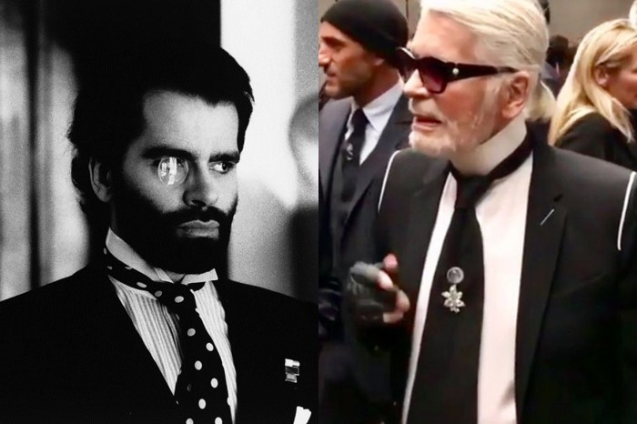 老佛爺 Karl Lagerfeld 事隔多年再轉新 Look 留鬍子?!
