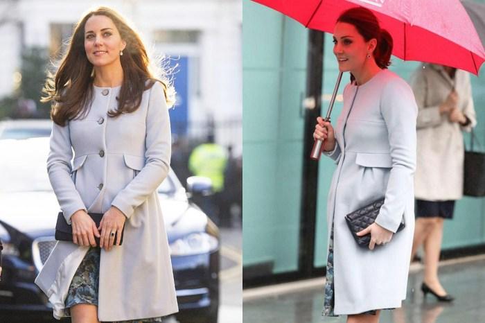 這一套孕婦裝束,再次證明凱特王妃長情又有時尚觸覺!