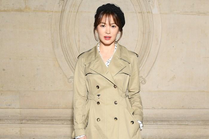 簡單一件 Dior 大衣,宋慧喬已經氣質滿分!