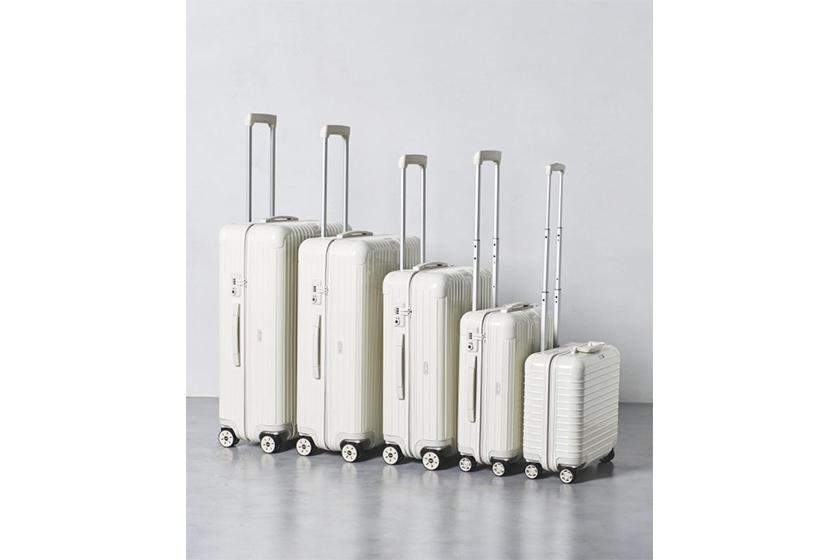 UNITED ARROWS 獨家推出全白 RIMOWA 行李箱