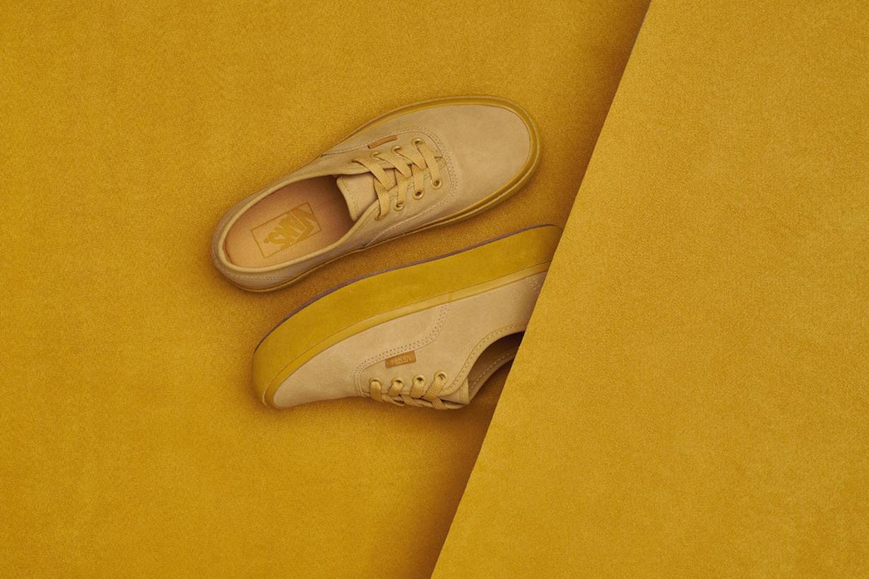 看到 Vans 這新系列 粉彩 Monotone 厚底波鞋 任誰都會一見鍾情