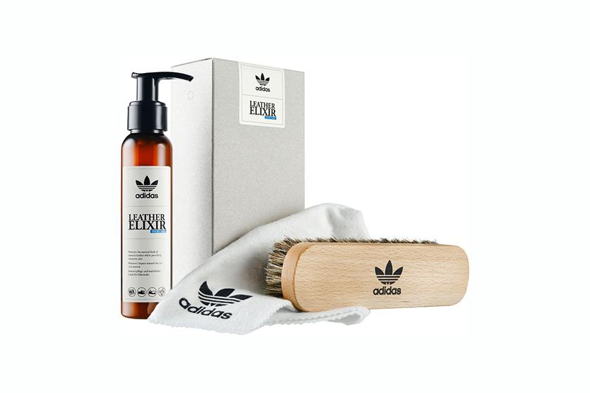 Adidas 推出首個自家 Shoe Care 系列 包括清潔液 防水噴霧 麖皮保養液 皮革清潔護理膏及除臭殺菌噴霧