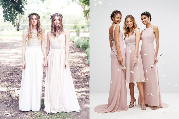 美美的伴娘裙不一定索價驚人,這些性價比極高的款式就是例外!