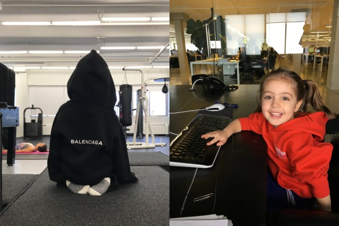 Balenciaga 正式推出童裝!與 SSENSE 合推一系列限量版休閒服