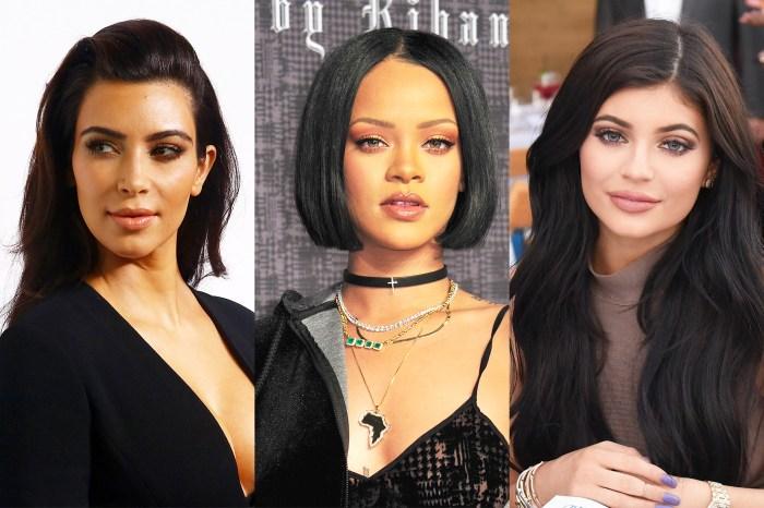 Rihanna、Kylie、Kim 的對決!哪一個明星美妝品牌在 2017 年表現最佳?