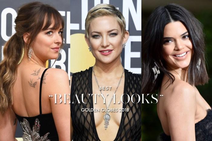 金球獎女星一律選擇以黑禮服上場,妝容髮型方面又如何突出搶鏡呢?