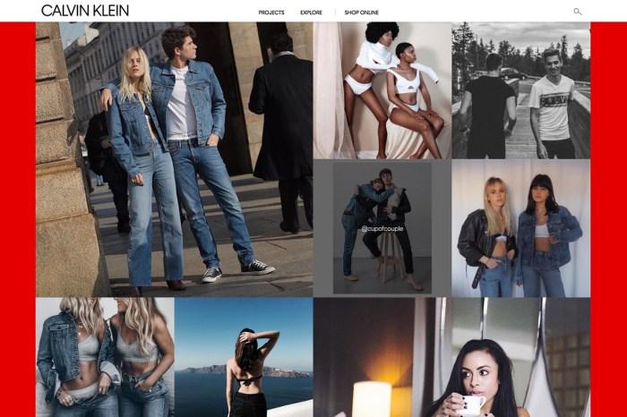 Calvin Klein 推出互動項目,人人都可以上載家庭照成為「#MyCalvins」一員!