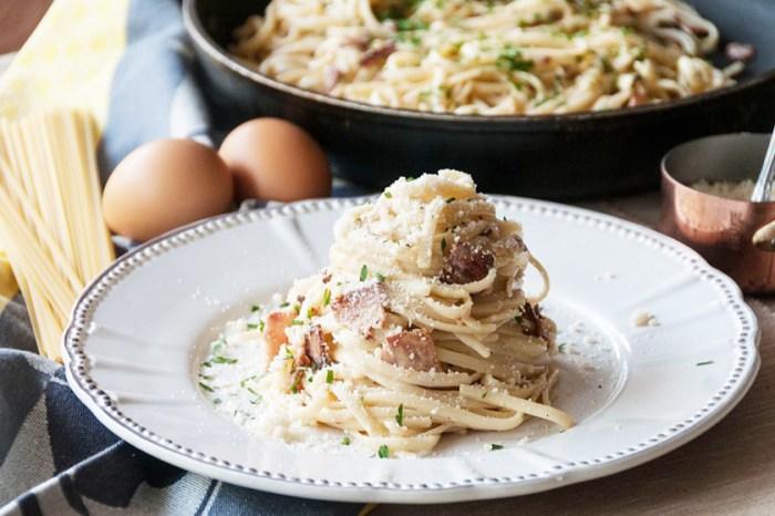 #週末廚房:失敗率極低!在家輕鬆製作 Creamy 又香濃的「卡邦尼意粉」!