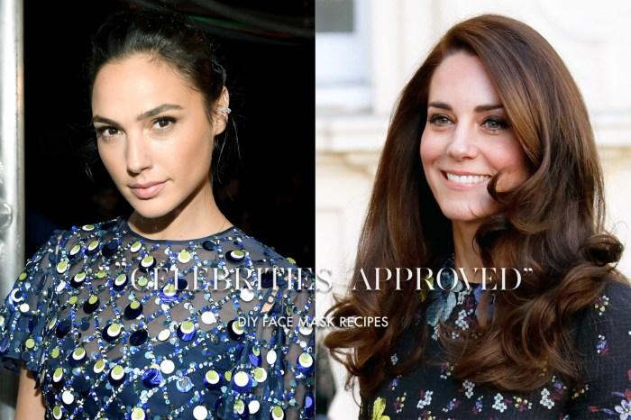 凱特王妃會用 Nutella 來護膚?這 5 位女星的好皮膚都是用 DIY 面膜養成的!