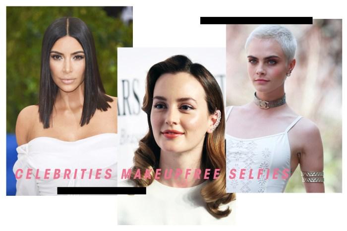 因有自信所以美麗!這些女明星都不怕把自己的素顏照公開!