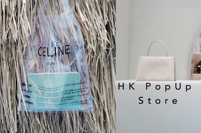 Céline 首設香港期間限定店!經典及新款手袋場內任君選購