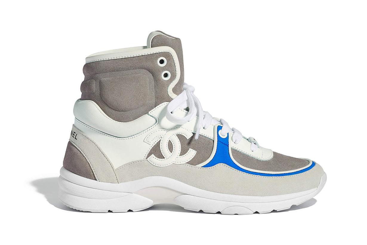 當你看過 Chanel Pre-Spring 18 的波鞋系列  你就知道今年的 Dad Sneakers 熱潮是停不了吧
