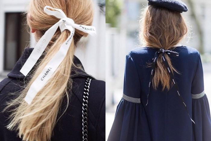 Instagram 掀起了最新的髮飾潮流,竟然是來自 Chanel 的包裝?