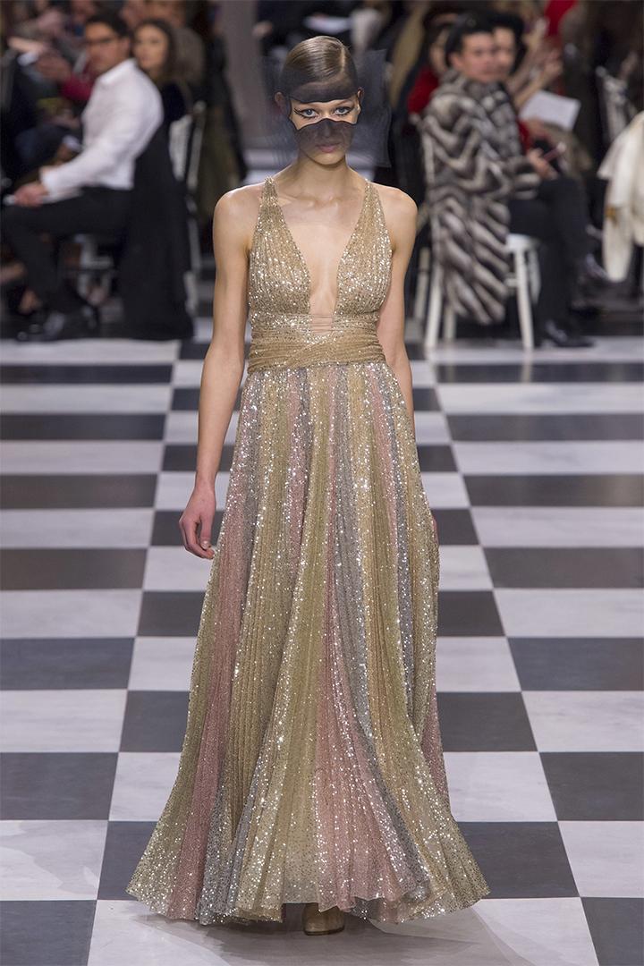 Christian Dior 2018 春夏高訂系列於巴黎時裝周 PFW 發佈