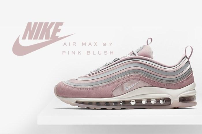 Nike 推出粉紅色版 Air Max 97:有了這雙鞋,你不會再嫌 Dad Sneakers 熱潮老套!