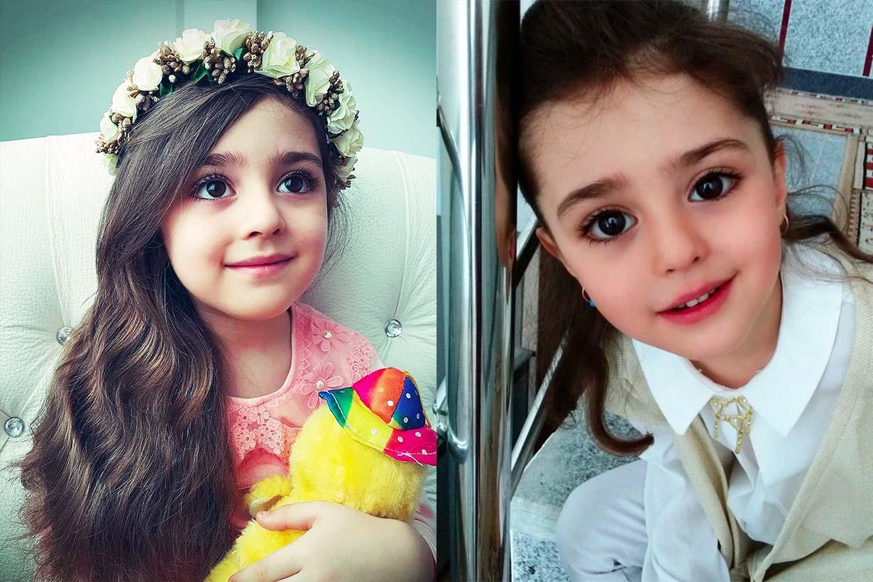 全世界最美麗的女孩 8 歲女童 Mahdis 太美被跟蹤,爸爸辭職當保鏢