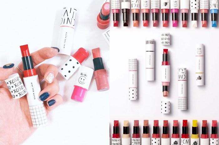 自由配搭的快感!韓國 Etude House 推出雙頭唇膏,讓你從 30 種顏色自行選 2 種!