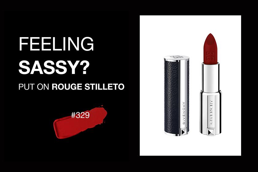 以 Givenchy Le Rouge Mat 大膽地盡顯你的個人態度