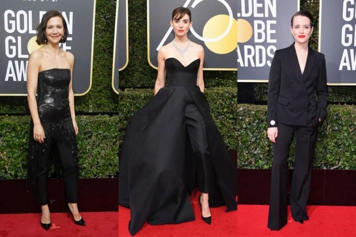 晚裝裙不再是「 全黑 」金球獎唯一焦點!女星們的褲款搭配同樣出色