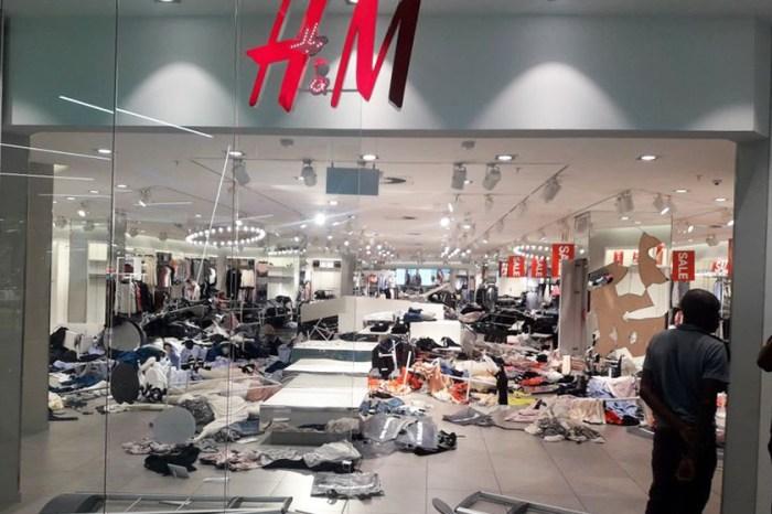 H&M 南非多間門店遭大肆破壞!竟因為一張相惹風波?