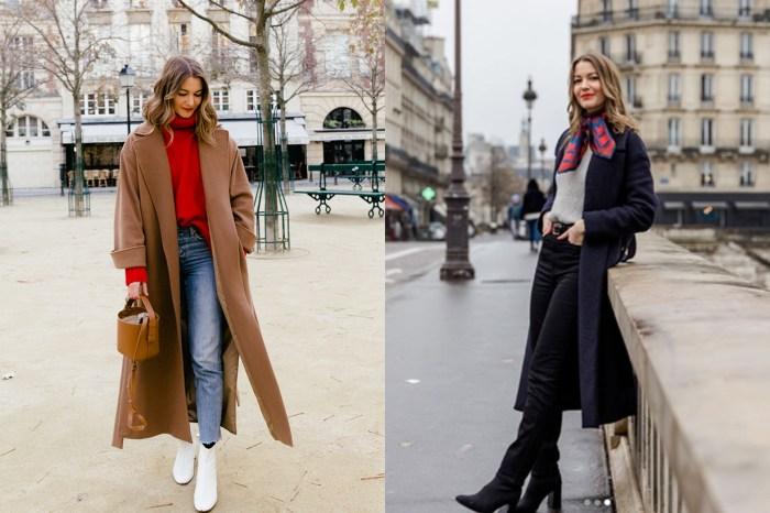 這位長居巴黎的女生,告知你怎樣以簡單方式穿搭大衣