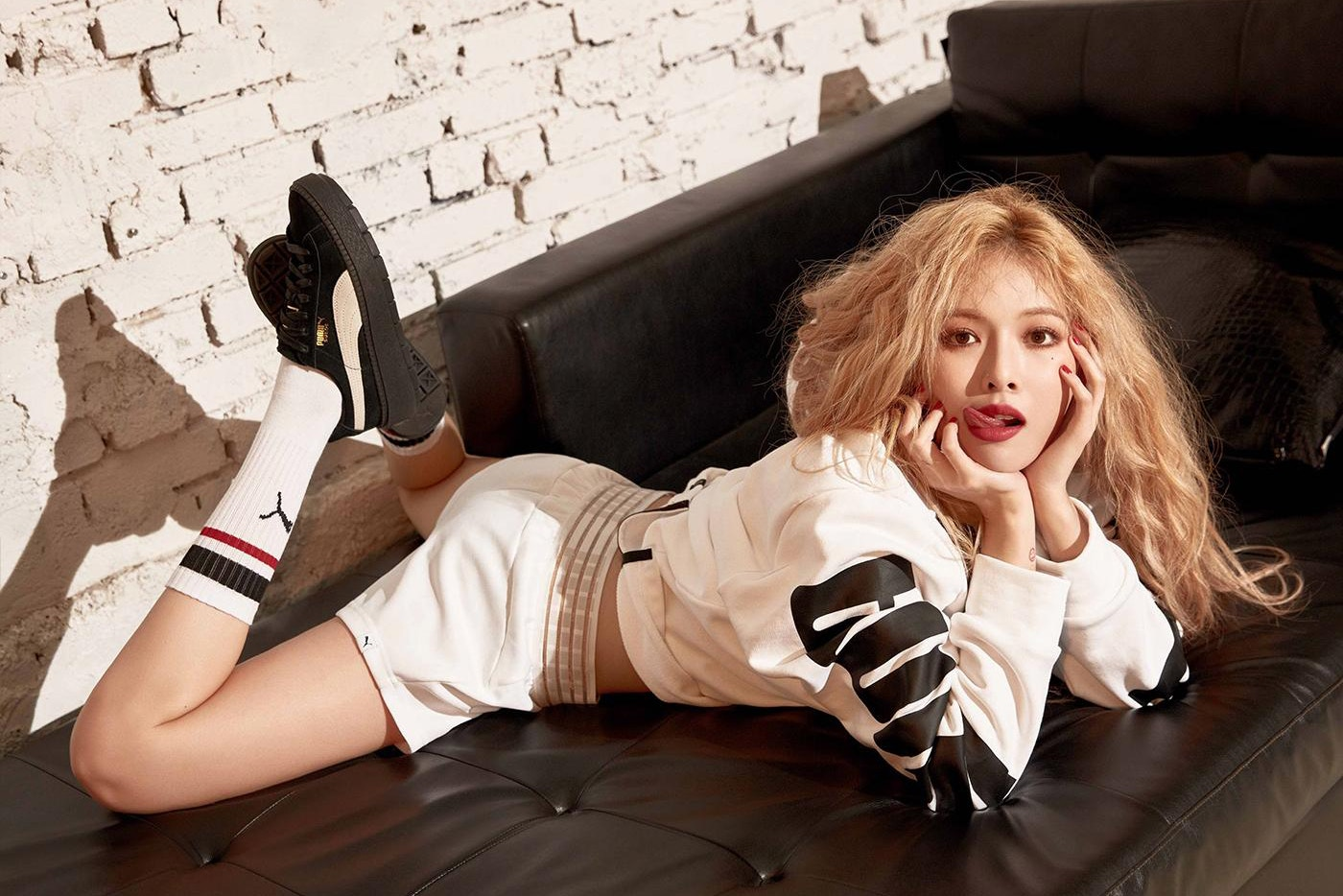 繼粉紅甜心後 南韓小天后 HyunA 再度曝光第二組 惡魔版 廣告