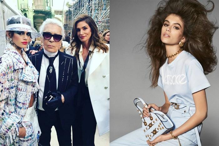 深得老佛爺歡心!只有 16 歲的 Kaia Gerber 將與 Karl Lagerfeld 推出聯乘系列!