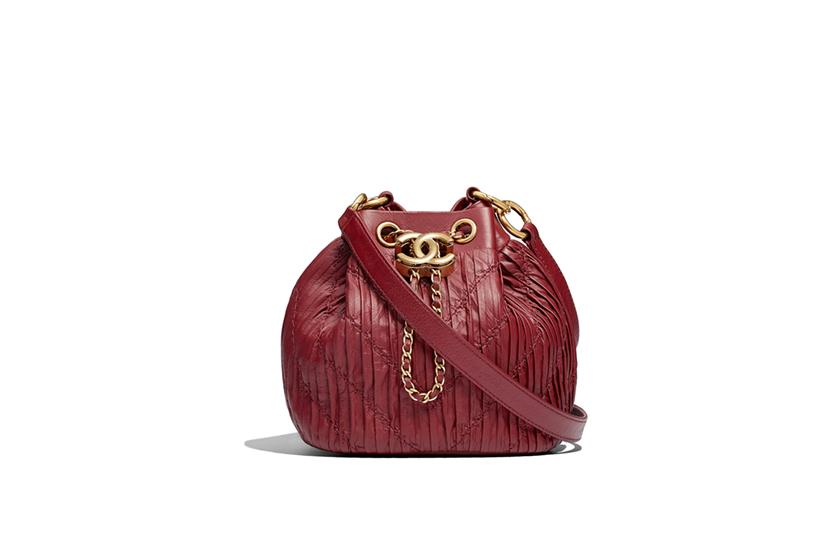凱特皇妃酒紅色 Chanel 手袋