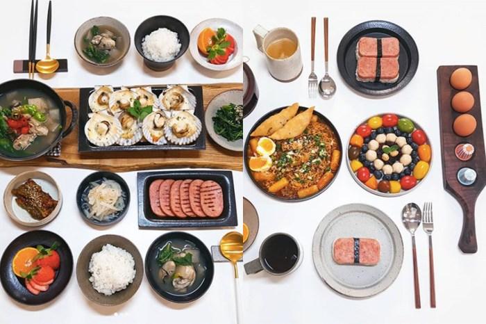 餐桌上的藝術:這位媽媽示範了何謂精緻的韓式家庭料理