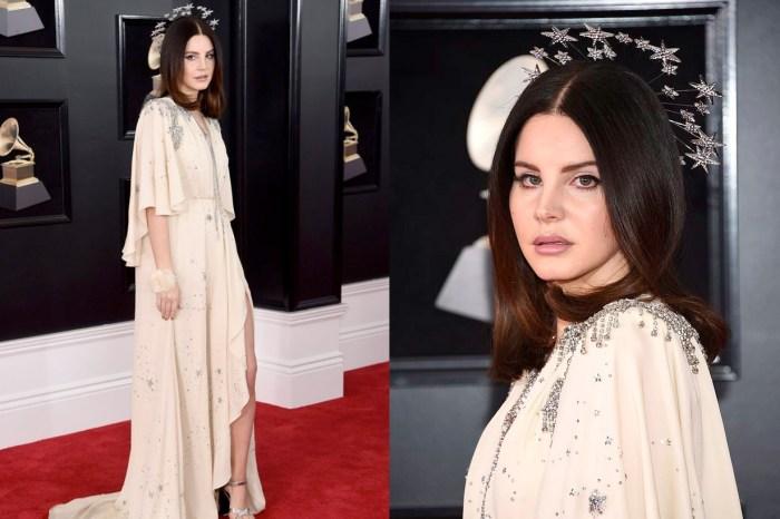 Lana Del Rey 戴著光環走上 Grammys 紅毯,原來是向「她」致敬!