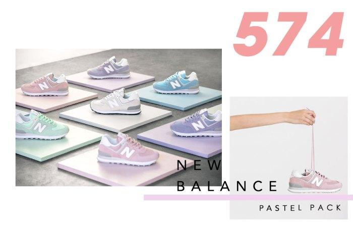 屬於春天的顏色:New Balance 推出粉色 574 波鞋系列,就如棉花糖一樣吸引!