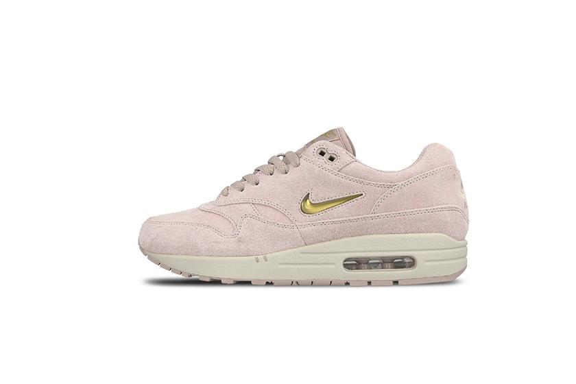 Nike Air Max 1 全新粉紅  金色波鞋
