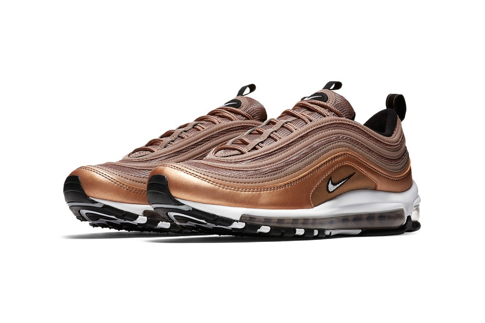 又有新色到 Nike Air Max 97 推出 Lusty Bronze 展現低調華麗