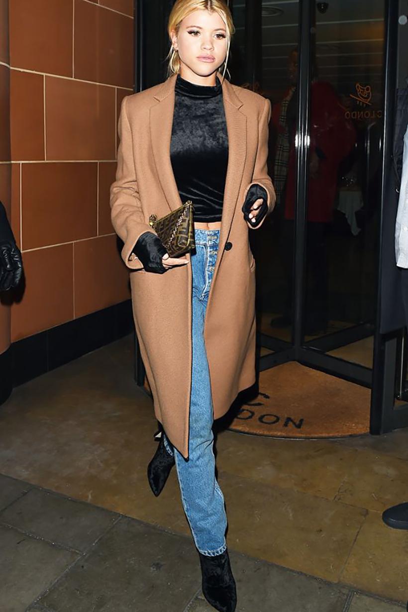 接 Gigi Hadid 棒 2018 年的新晉 Fashion Icon 是 Sofia Richie