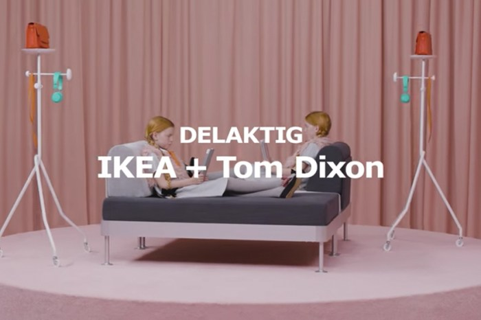 IKEA x Tom Dixon 作品下月開售,Tom 稱這不是梳化是「Platform」