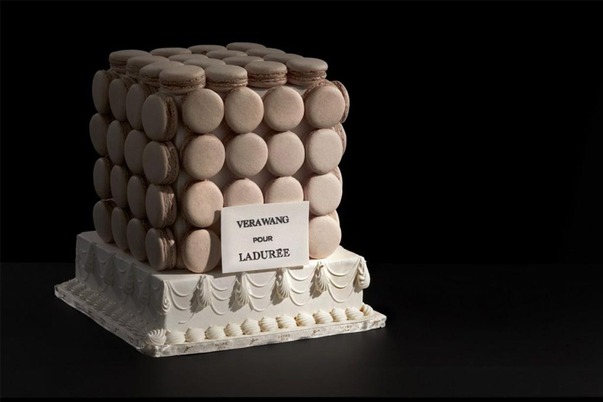 Vera Wang  Ladurée 聯乘推出 Vera Wang Pour Ladurée 甜品系列