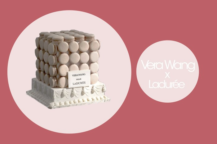 Vera Wang 聯乘 Ladurée 推出的甜品系列,絕對是把女生的美夢結合在一起!
