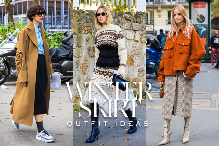 誰說冬天就要不能穿裙子?街拍達人教你 11 個時尚又不用捱冷的裙子穿搭