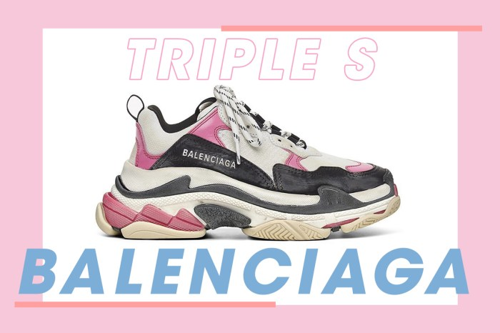 以超快速度售罄,Balenciaga Triple S 「泡泡糖粉紅」新色驚喜登場!