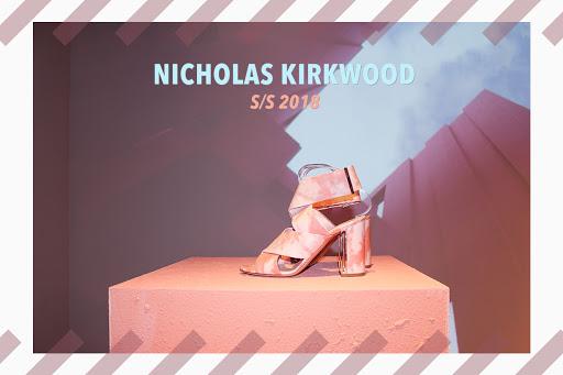 女生的自信都是來自於鞋子不容錯過的 Nicholas Kirkwood 2018 春夏系列