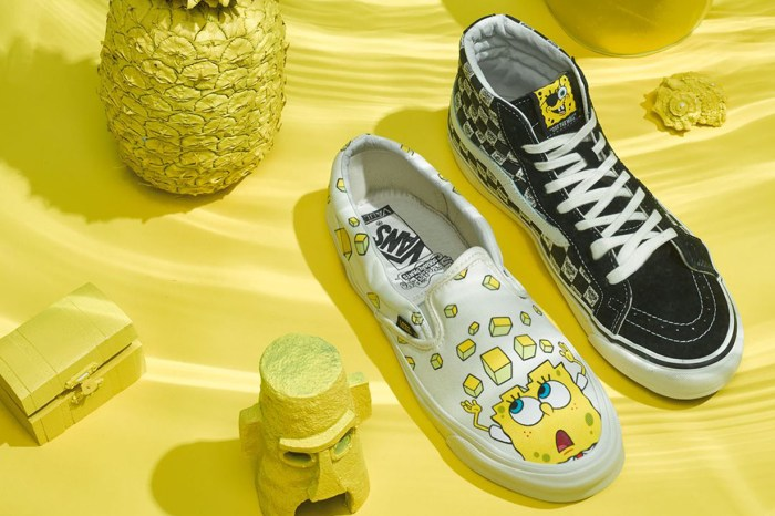 女孩們尖叫吧!Vans 找上《SpongeBob Squarepants》推出一系列超可愛聯名鞋款!