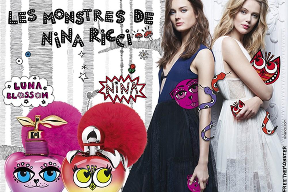 屬於好姐妹的香水 Nina Ricci 推出 Nina&Luna 怪物對香 象徵 甜蜜永恆的友誼