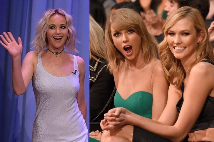 影后也八卦!Jennifer Lawrence:「Taylor Swift 和 Karlie Kloss 讓我晚上都睡不著覺!」