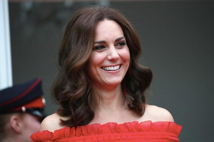 最美孕婦無誤!Kate Middleton 挺孕肚最新亮相,穿上 Alexander McQueen 展現母性光輝