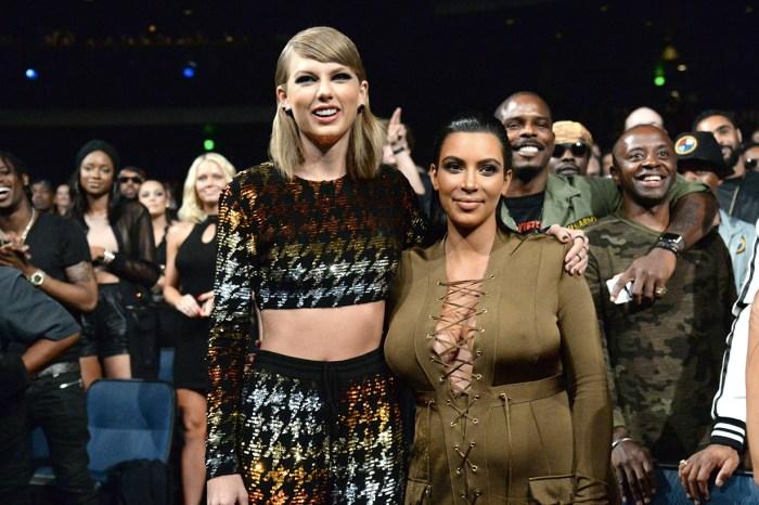 Kim Kardashian 送了一個情人節禮物給死對頭 Taylor Swift:「就算是仇敵也值得這份大禮!」