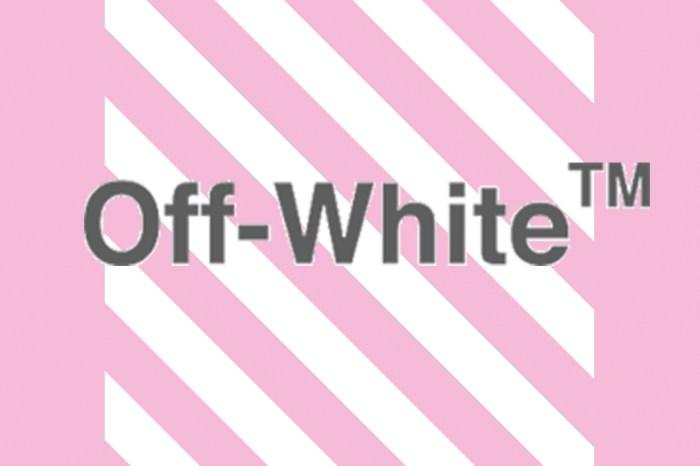 粉紅控怎能不心動?OFF-WHITE 招牌活頁夾手袋也推出了「千禧粉」版本!