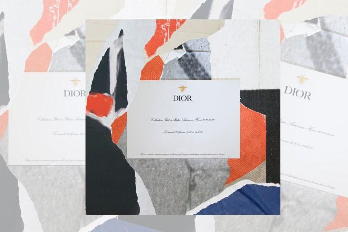 #PFW:準時入席!直擊 Dior 2018 秋冬系列時裝騷