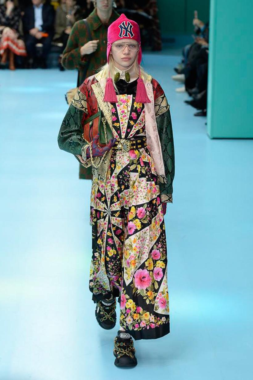 Milan Fashion Week Gucci 2018 FW 時裝騷 都將整個手術塞搬到騷場了