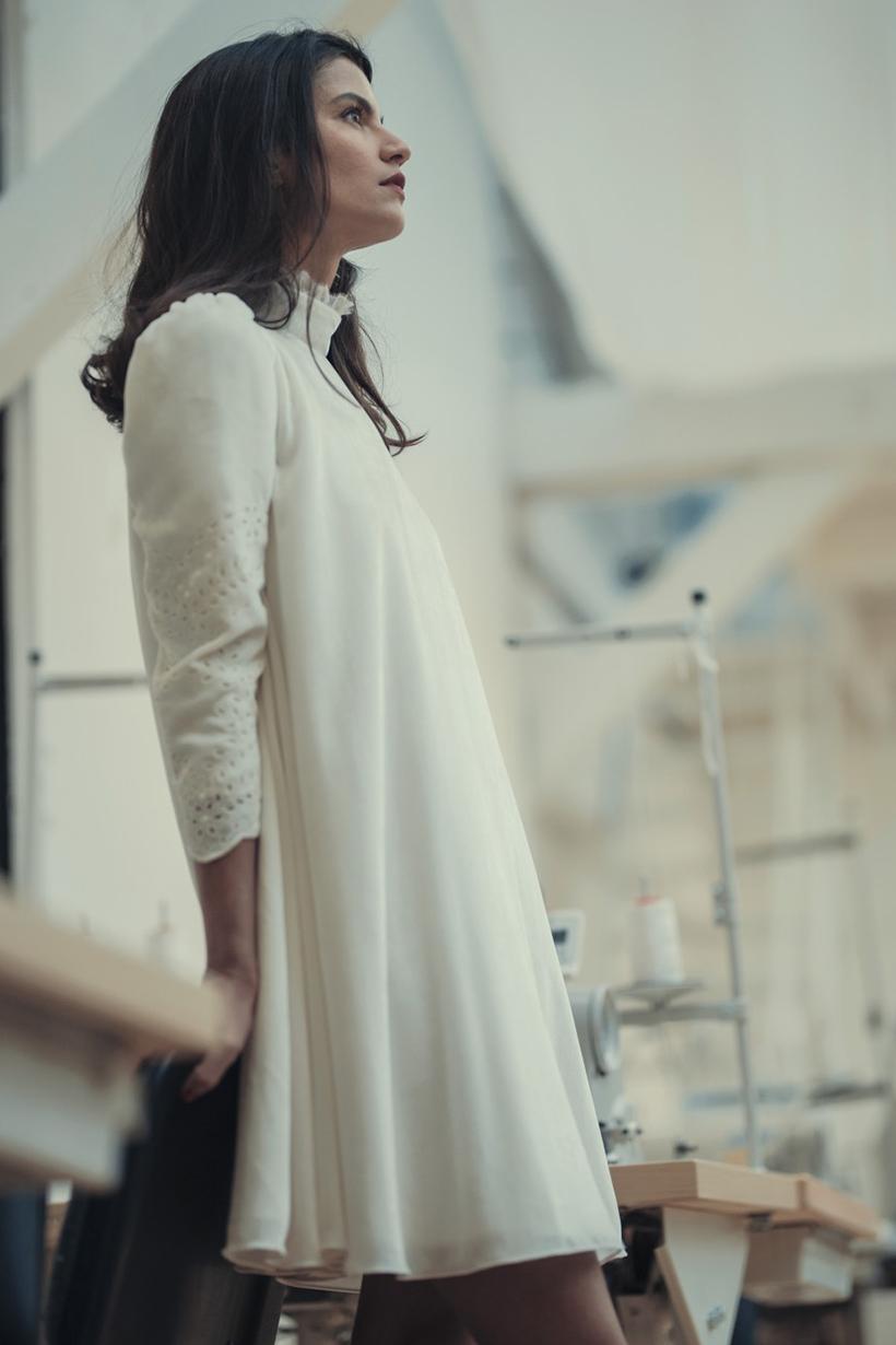 Laure de Sagazan 2018 系列婚紗樸實卻又質感滿滿